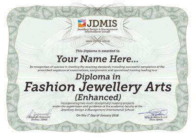 fashion jewellery design training Singapore