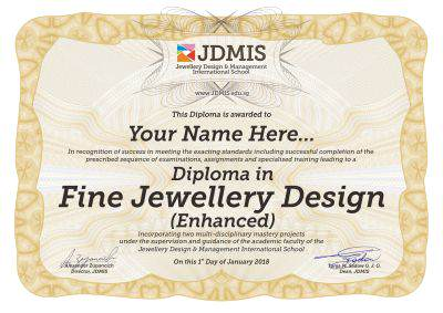 fine jewellery design training Singapore